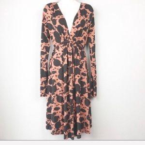 Rachel Pally Dresses - Rachel Pally Animal Print Long Sleeve Dress